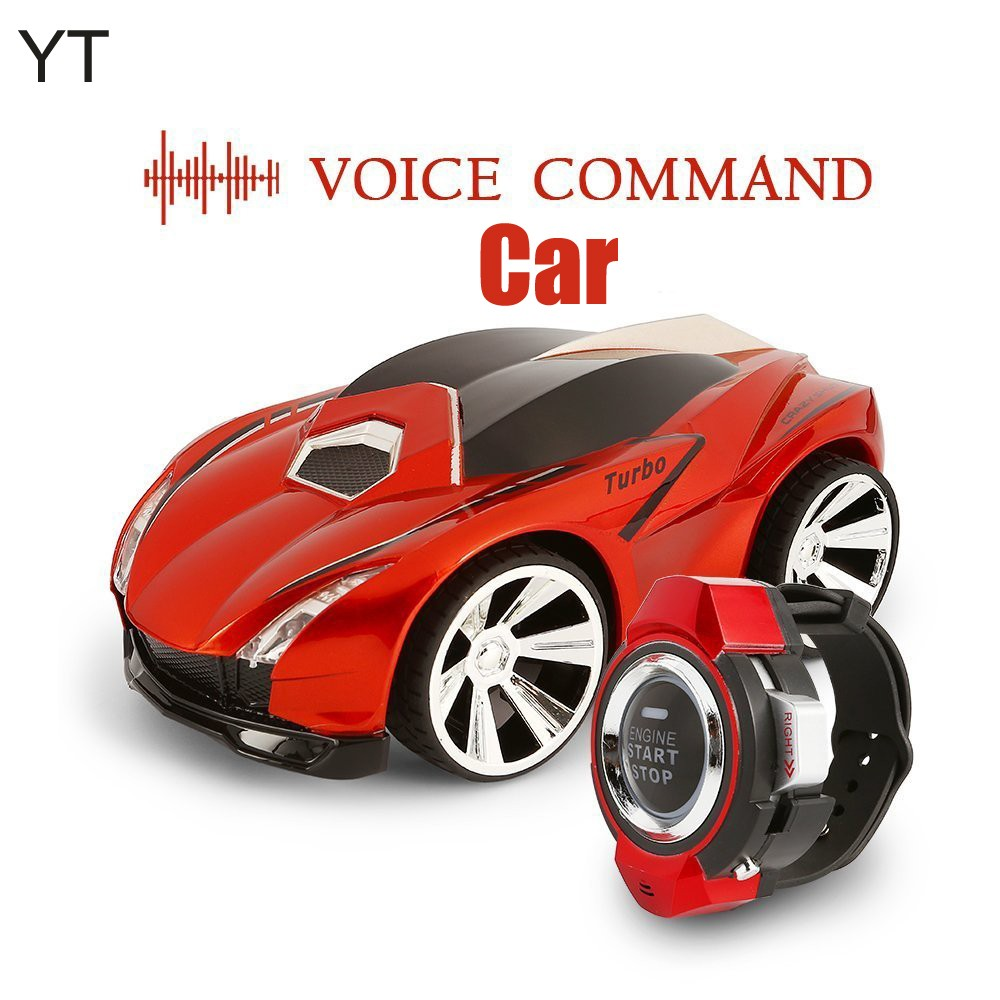 Watch Acoustic Smart RC Car 6 Sytles Optional Voice Control Watch RC Car for Child Gift Intelligence TOY