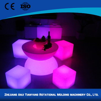 high technology top quality glowing ottoman cubes buy glowing