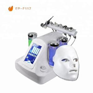 7 in 1 Hydra Water Dermabrasion RF Bio lifting Spa Facial Machine/Hydro aqua beauty salon equipment