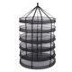 Factory direct supply Greenhouse hydroponic drying net dry rack