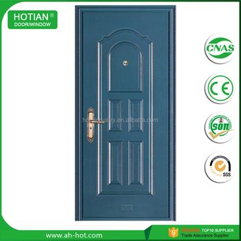 India Main Gate Designs Steel Front Entry Doors/door With Frame/metal Entry  Door