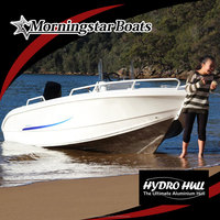 2015 New 5m aluminum speed center steering console motor boat for sale