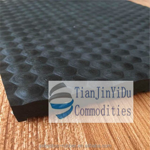 customed rubber interlocking 30mm-50mm thickness horse cow stable rubber mats-R