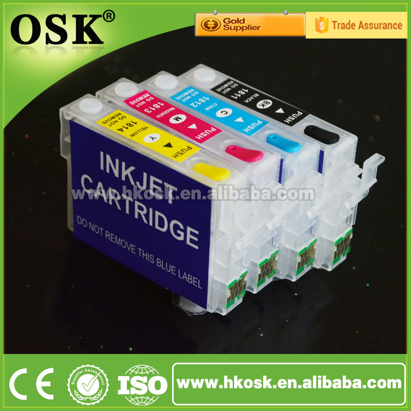 Ink cartridge for Epson WF 3620 WF 3640 refill ink cartridge T2521