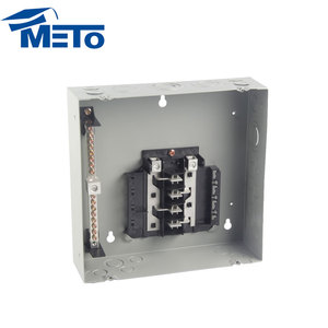 New product superior low voltage main distribution board 6way 125a plug- in type electrical load center