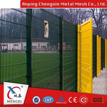 feature design welded wire mesh fence gate
