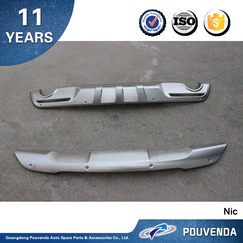 New arrive Stainless Steel Front and rear skid plate For Ford Explorer 2016 bumper guard Auto accessories From Pouvenda