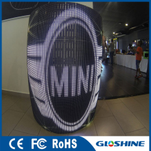 Gloshine I7.81 Indoor soft foldable led screen with electronic advertising board