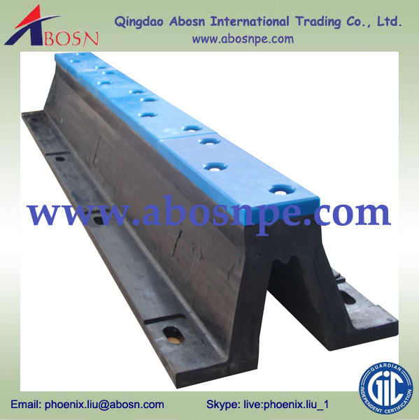 UHMWPE Facing Pad Marine Fender board for Arch Fender Pad