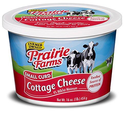 Prairie Farms Dairy Cottage Cheese Small Curd, 1 lb