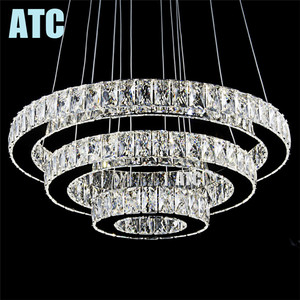 Zhongshan led chandelier lighting modern,LED crystal chandelier AT7031-600
