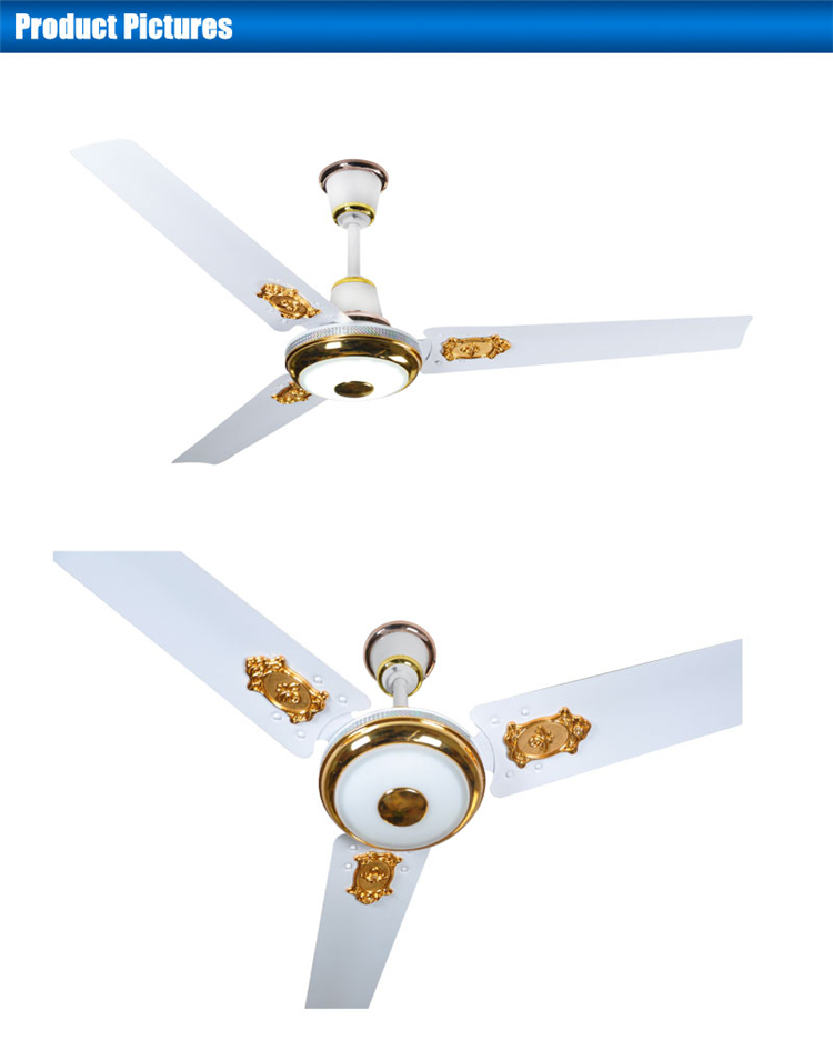 56inch large double ceiling fan blades ceiling fan