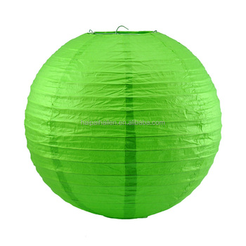 Green Paper Lanterns Ball Candy Color Chinese Wedding Party Decoration