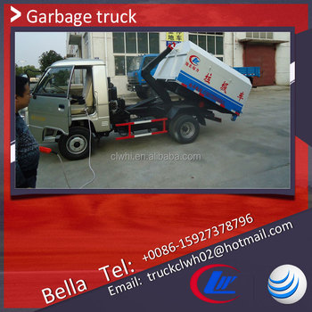 Rhd China Garbage Truck,1-2cbm Forland Roll On Roll Off Garbage ...