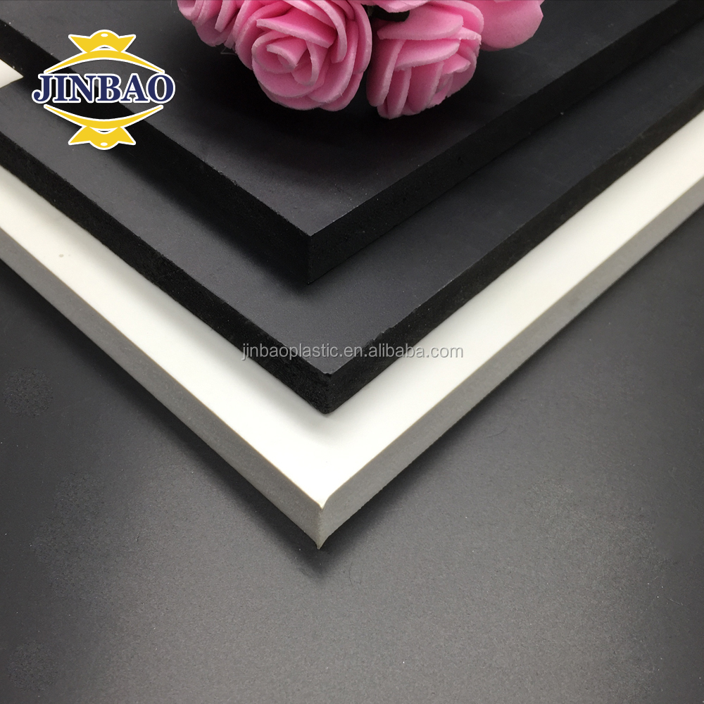 JINBAO 20mm thick plastic sheet pvc wall panel plastic foam board