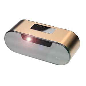 Mini mp4 stereo projector for outdoor