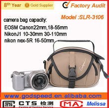 Trendy protective cover holster shoulder bags military camera bag for nikon dslr