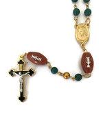 R0105 sport basket ball gold cross rosary pendants necklace