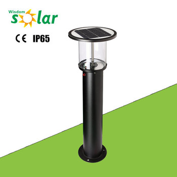 Promotional Stainless Steel Stand Alone Solar Garden Light With ...