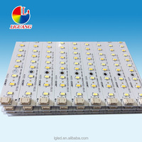 ZhongShan factory led panel light, led strips light module smd5730 double color led pcb board