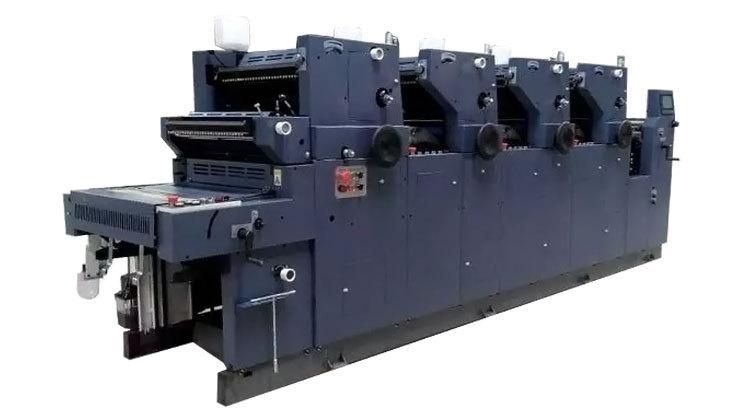 Digital Offset Printing Press Zr462iinp Four 4 Colour