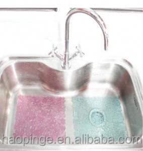 Sink Protector Mat Kitchen Rubber Hole Ring