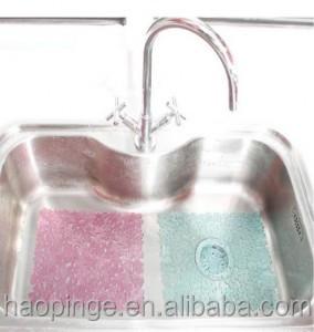Sink Protector Mat , Kitchen Sink Mat, Rubber Hole Ring Mat