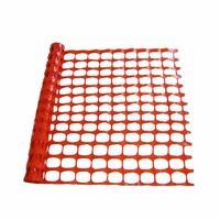 orange plastic construction fencing road safety barrier mesh