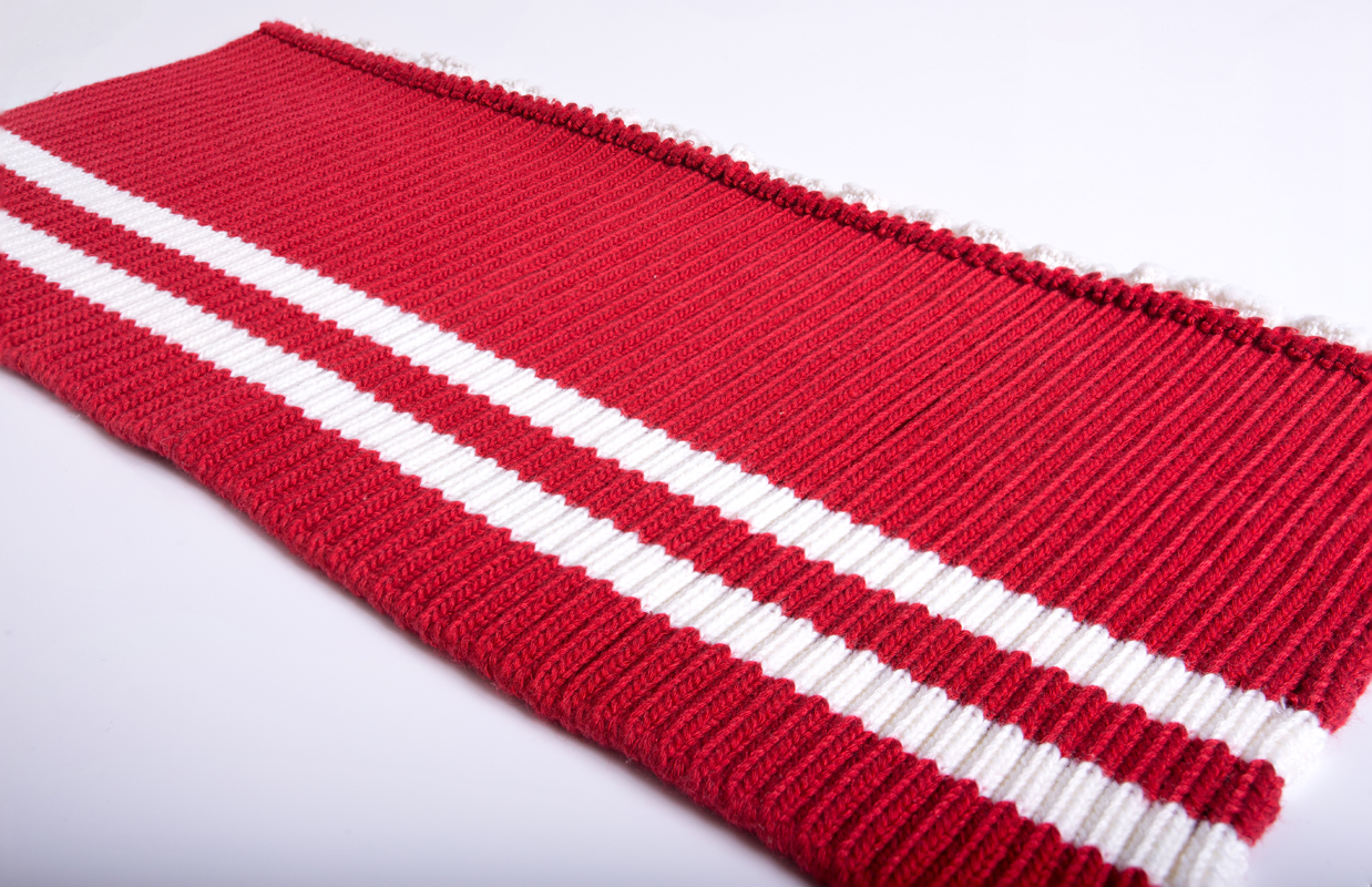 High quality 100% polyester fabric rib knit trim
