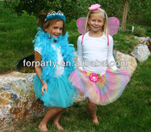 CG-FB041 Party supplies Fairy tutu Wings Headband Feather boa