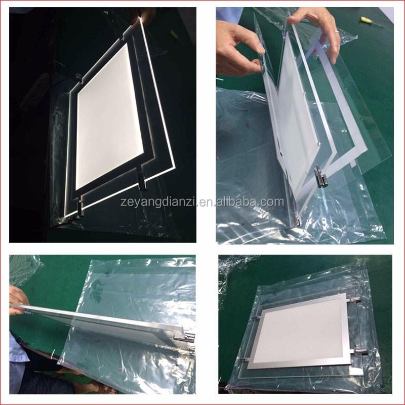 A3 Doppelte Seiten Eigentum Lease Fenster Led-anzeige Box Licht ...