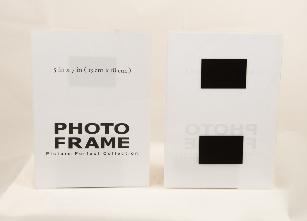5x7 acrylic magnetic Photo Frame, sign holder Fridge magnet Picture Frame (10)