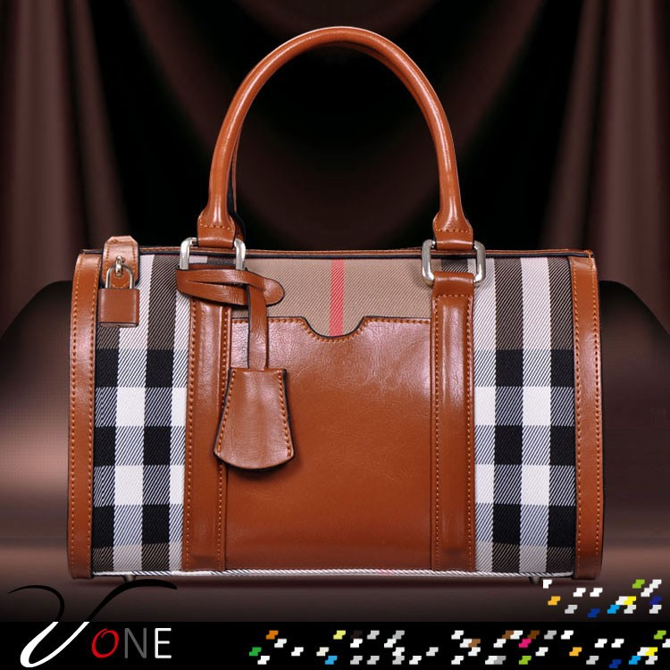 2ccdbcdc87 2015 Hot Seller Ladies Bags Western Fashion Women Bags Genuine Leather With  Canvas Totes Handbags Wholesale