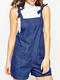EY0125P 100% cotton sleeveless playsuit denim womens adult romper pattern