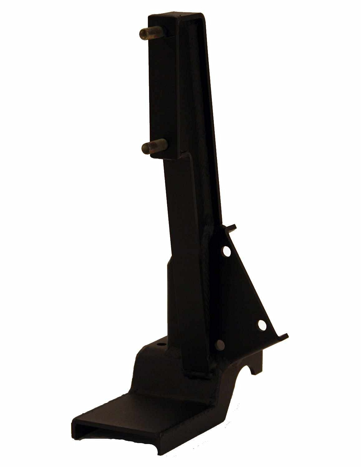 Fab Fours M1450-1 Hi Lift Jack Mount for Jeep Wrangler JK Rear Bumper with Tire Carrier