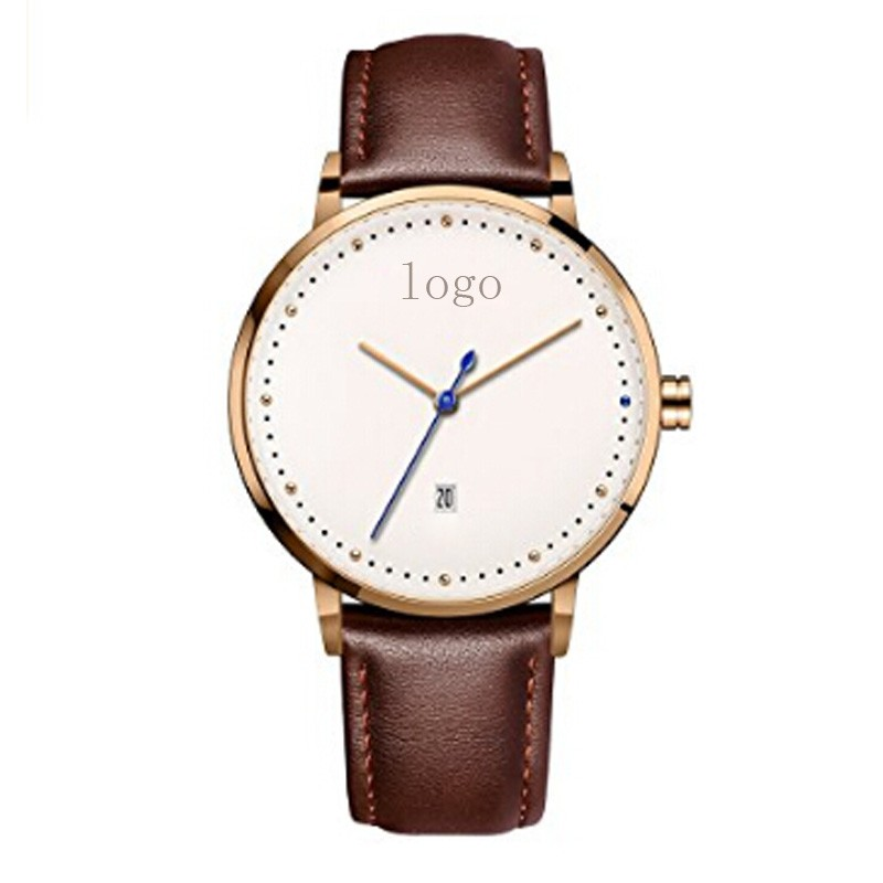 My Brand Name Logo Custom Printed Watch Minimalist Man's ...