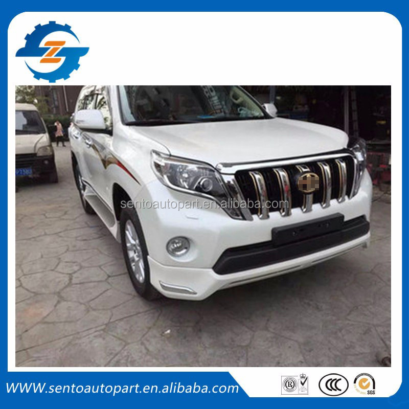 front bumper front lip body kit for prado 2016