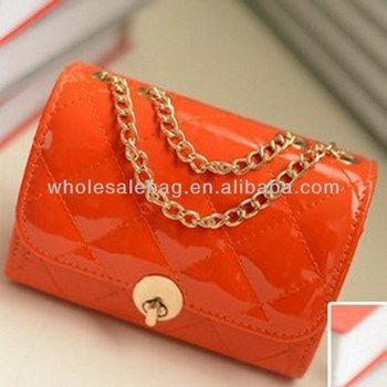 Fashion Quilted Leather Chain Bag Wholesale Sling Bag Chain ...