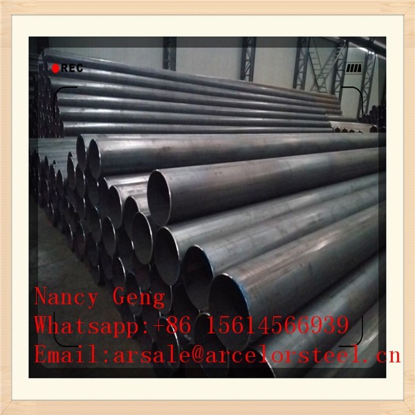 Trade Assurance Carbon Steel Pipes/ Welded/ Saw Up to 72 Inches/ Meet ASTM Standard