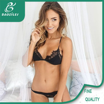 eae5c797fbc Wholesale Fancy Nice Quality Black Luxury Lingerie Manufacturer ...