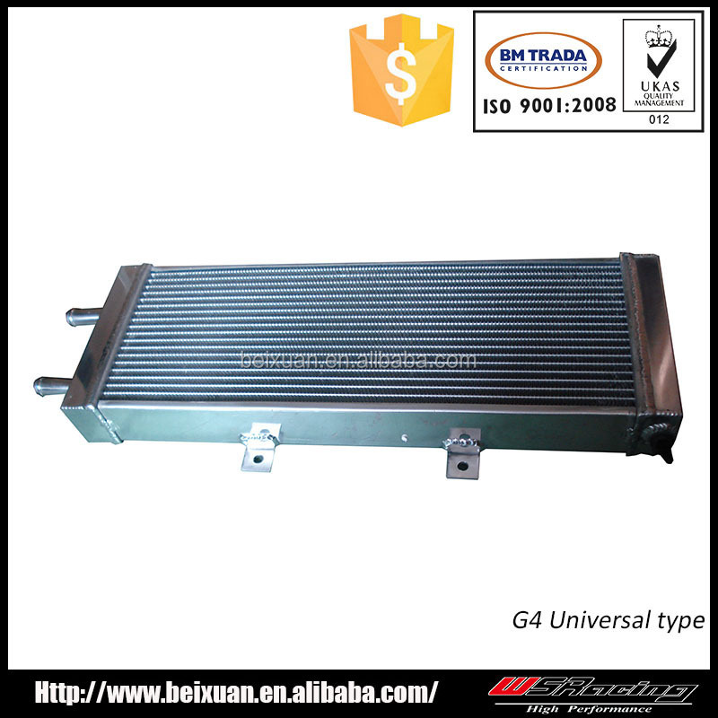 small radiator for water cooled intercooler car radiator