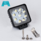 round square 27W 48w cob offroad lamp led work light
