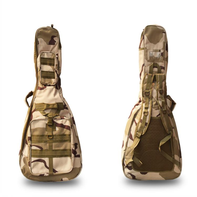 2019 New Design Camouflage Waterproof High Quality Acoustic Bass Guitar Gig Case Bag Guitar