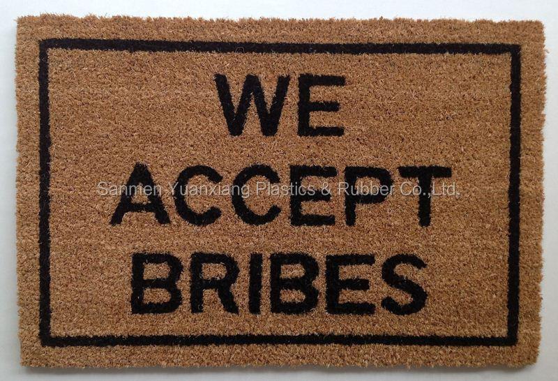 best price pvc coco rug