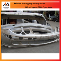 Car front bumper injection molding/car bumper rapid prototypes