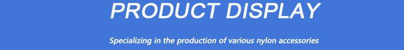Fabrikant aangepaste plastic PA66 spuitgieten nylon onderdelen