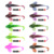 Wholesaler cheap T tail soft plastic minnow crankbait peche squid bait lure