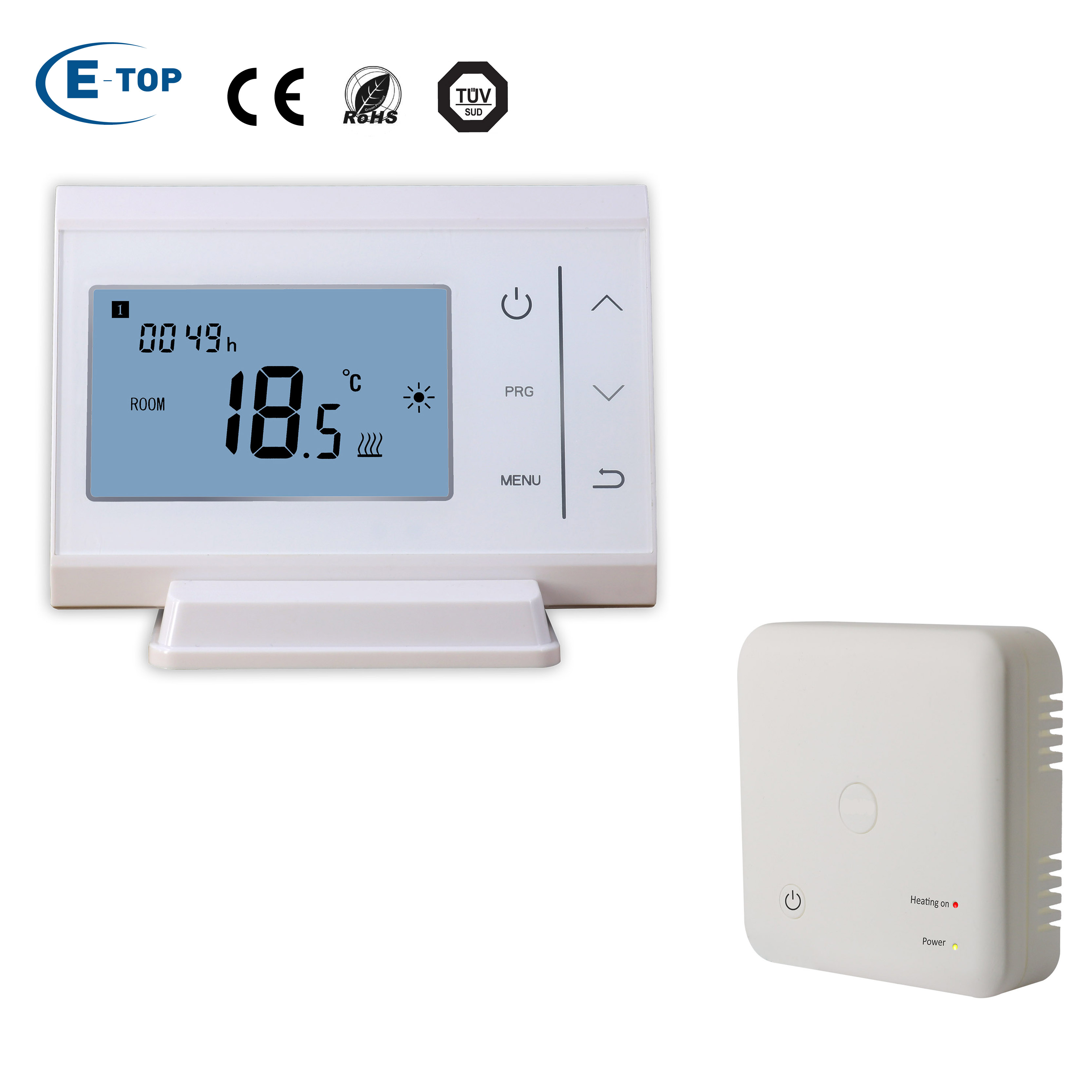 Best WIFI Opentherm Thermostat DIY, View DIY THERMOSTAT, E-Top Product  Details from Xiamen E-Top Controls Technology Co , Ltd  on Alibaba com