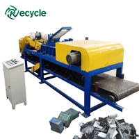battery recycling and separating machines / Dry battery e waste recycling machine