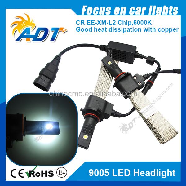 Car Headlight Bulbs(led) Hottest Selling!2pcs Car H7 80w Cree Chip Led White Beam Car Fog/driving Light/ Drl Head Light Lamp Bulb Canbus Auto Lighting